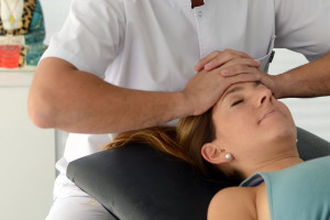 Terapia Craneal. Técnica para hueso frontal.