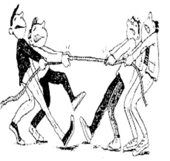 Imagen 1 - Lucha de tensiones
